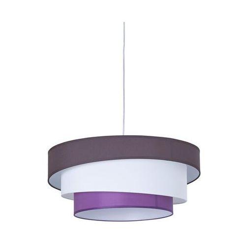 Inspire Lampa wisząca triple biało-fioletowa e27 (3276000202752)