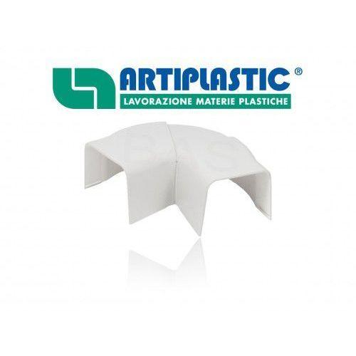 Kolano płaskie regulowane 65°-130° do kanału montażowego 80x60mm (ipapc80) marki Artiplastic