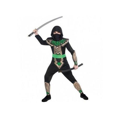 Kostium dziecięcy zielony smoczy ninja - 5/7 lat (116) marki Amscan