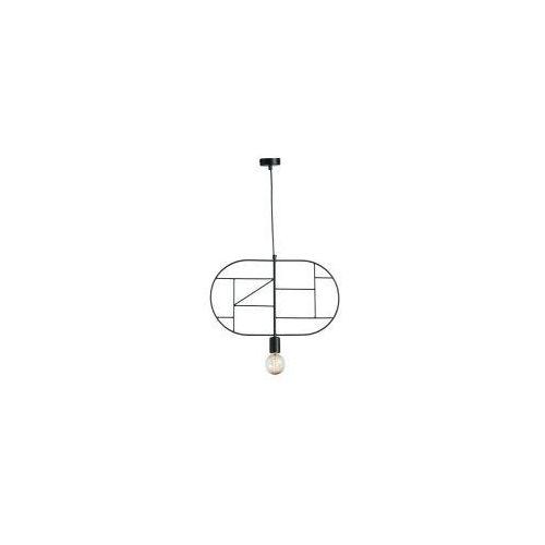 Lampa wisząca na 1 żarówkę IBIZA Z-1 BLACK 3902 Namat