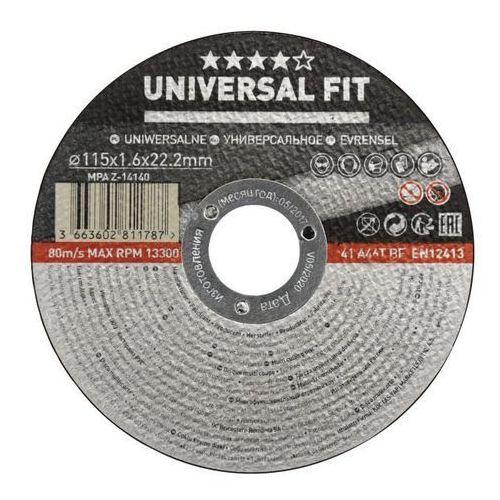 Tarcza do cięcia Universal multifunkcyjna 115 x 1 6 mm