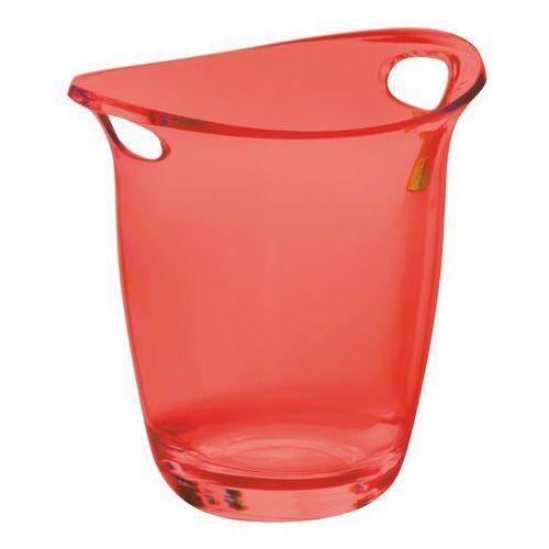 Cooler do wina i szampana bugatti glamour transparentny czerwony marki Casa bugatti