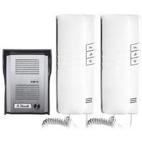 Eura-tech Domofon - zestaw domofonowy, 2 słuchawki rl-3203cc (5905548271255)