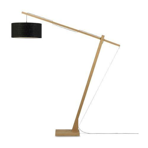 Good & mojo Montblanc-lampa podłogowa bambus/len wys.207cm (8716248080804)