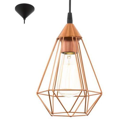 Eglo Lampa wisząca 1x60w tarbes miedziana, 94193