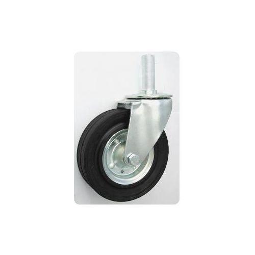 Koło metalowo-gumowe w obudowie skrętnej z trzpieniem fi 200, 17FA-353D8_20130323124114