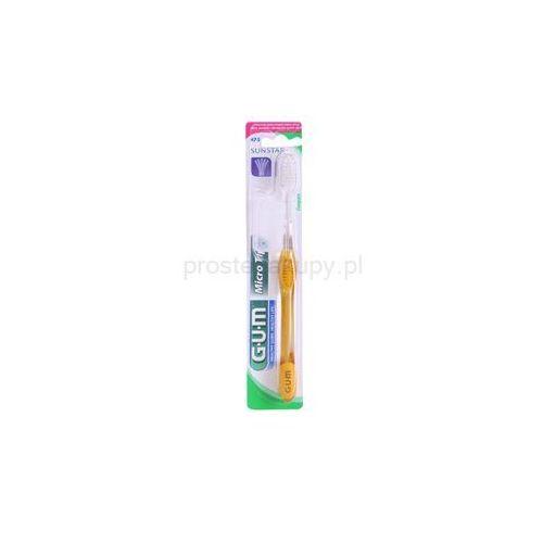 G.u.m  micro tip compact szczoteczka do zębów ultra soft + do każdego zamówienia upominek.