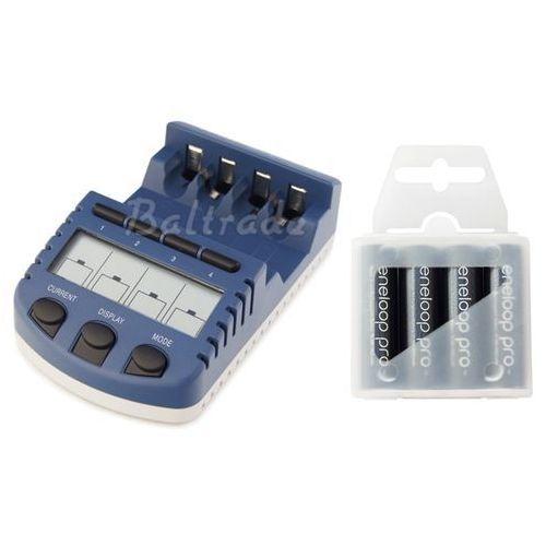 ładowarka BC-1000 (następca BC-900) + 4 x R6/AA Eneloop 2550mAh BK-3HCCE/4T (box)