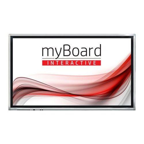 """Myboard Monitor interaktywny grey d-led 75"""" 4k uhd z androidem - vat 0% oferta tylko dla szkół!"""