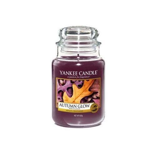 Świeca zapachowa duży słój autumn glow 623g marki Yankee candle