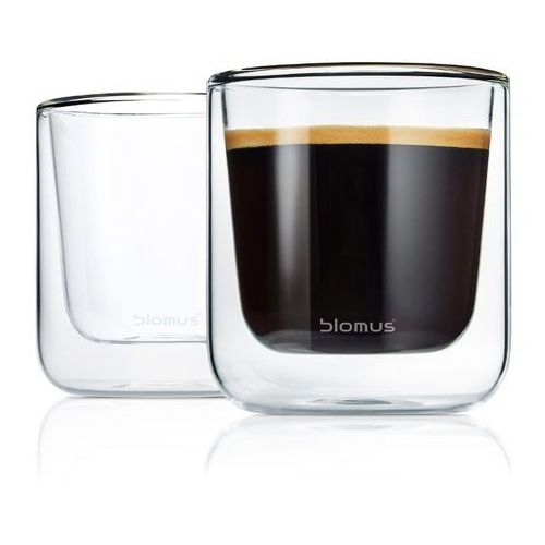 - komplet 2 szklanek caffe / tea marki Blomus