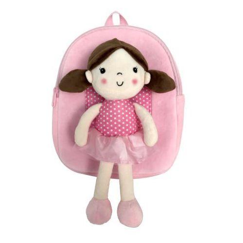 Copywrite Plecak z odpinaną lalką - różowy