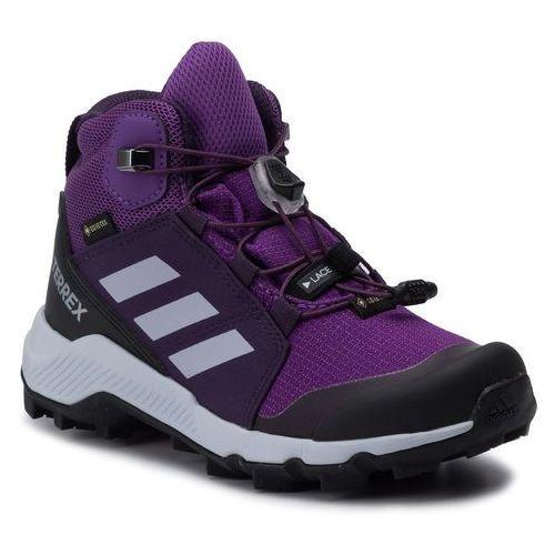 Buty adidas - Terrex Mid Gtx K GORE-TEX BC0597 Actpur/Aerblu/Trupnk, kolor fioletowy