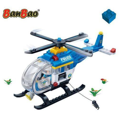 Klocki BANBAO Helikopter Policyjny 7008 Darmowa wysyłka i zwroty
