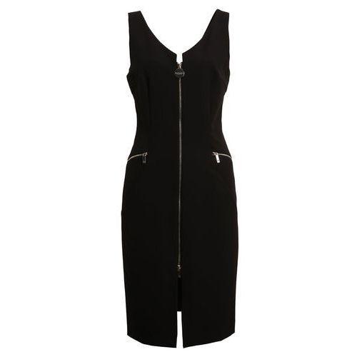 MARCIANO LOS ANGELES SLEEVELESS ZIPPER Sukienka koktajlowa jet black, w 4 rozmiarach