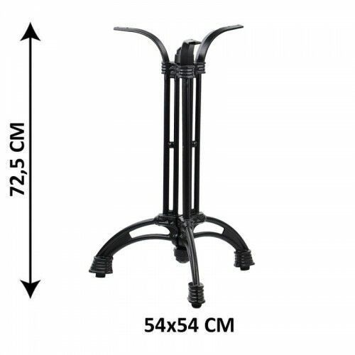 Stema - sh Podstawa stolika żeliwna sh-5029/b, (stelaż stolika), kolor czarny