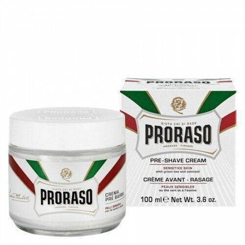 pre-shave cream green tea and oatmeal (100 ml) marki Proraso
