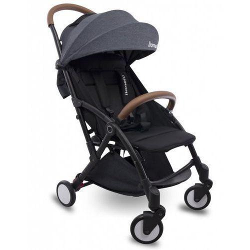 Wózek spacerowy julie czarny/czarny składany marki Lionelo