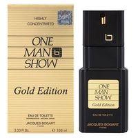 Jacques Bogart One Man Show Gold Edition woda toaletowa dla mężczyzn 100 ml + do każdego zamówienia upominek.