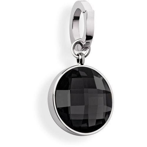 Tamaris Jane charms damski ze stali szlachetnej i czarnego szkła, stal szlachetna, czarny, A03550060