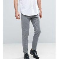 Noak skinny trousers in jacquard - navy