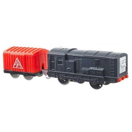 Fisher tf lokomotywa z wagonikiem diesel marki Fisher price
