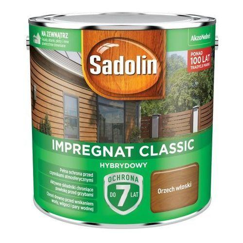 Impregnat do drewna Sadolin Hybrydowy orzech włoski 2,5 l, 5327503