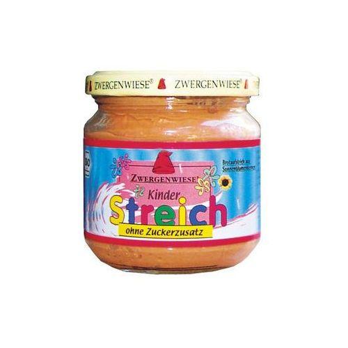 Zwergenwiese Pasta słonecznikowa dla dzieci bez cukru 180g bio (bezglutenowa)