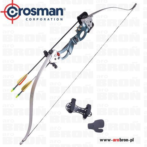 Łuk klasyczny Crosman AUGUSTA ARY2026 - Zestaw kołczan, 2 strzały, ochraniacz na przedramię, skórka