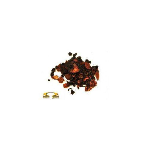 Herbata Czerwona Pu-Erh Truskawki w Śmietanie 50g - produkt z kategorii- Owocowa herbata