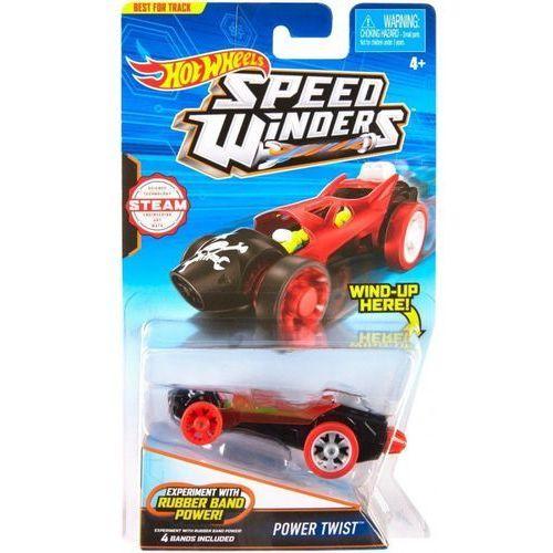 Autonakręciak i samochodziki, power twist marki Hot wheels