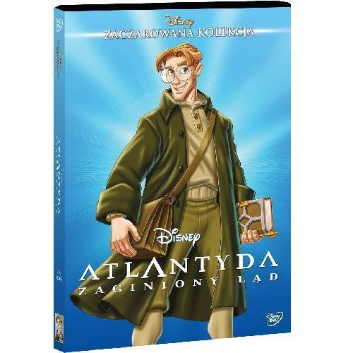 Disney. Zaczarowana kolekcja. Atlantyda - zaginiony ląd. DVD