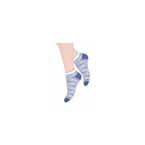 Steven Stopki skarpetki błękit/jeans