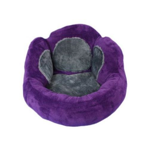Okrąglak z oparciem - violet