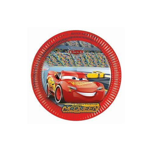 Procos disney Talerzyki urodzinowe cars 3 - 23 cm - 8 szt. (5201184878071)
