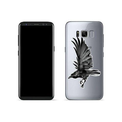 Etuo crystal design Samsung galaxy s8 - etui na telefon crystal design - czarny kruk