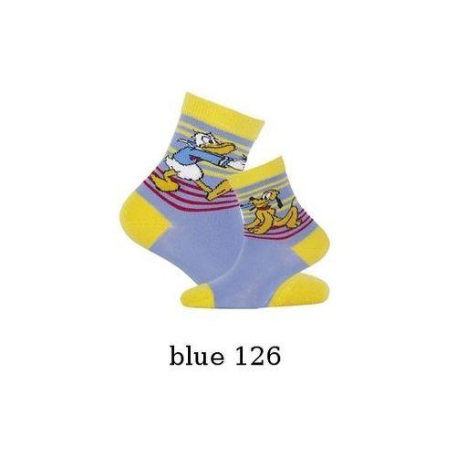 Skarpety Gatta Disney chłopięce G24.D01 2-6 lat 21-23, czarny/black 140, Gatta