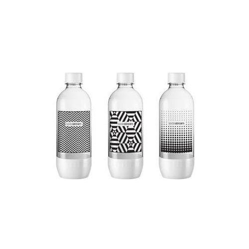 Butelka  1l tripack black&white marki Sodastream