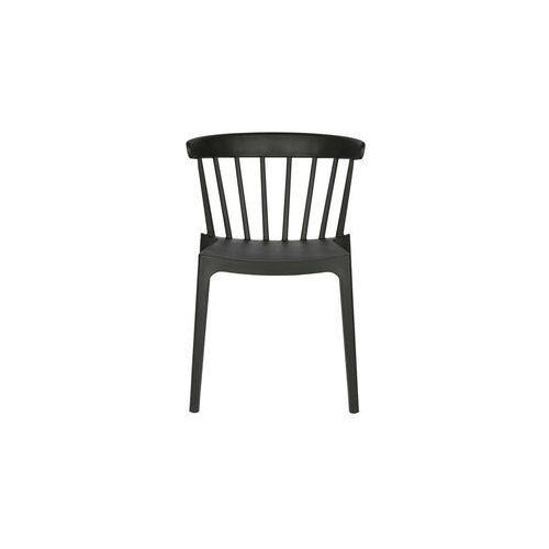 Woood Krzesło Bliss, czarne 378634-Z, kolor czarny