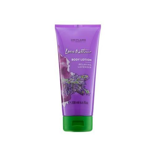 Oriflame Love Nature mleczko do ciała o zapachu lawendy (Relaxing Lavender) 200 ml (2800012967234)