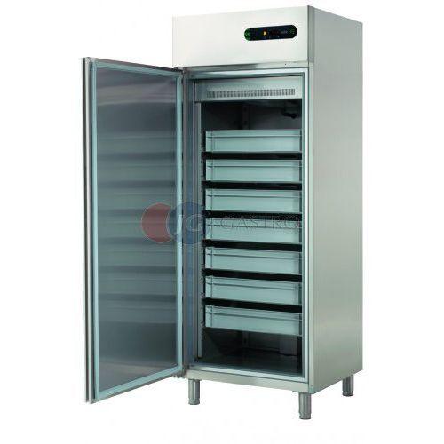 Szafa chłodnicza 1-drzwiowa na ryby 600 l ecf-601 r marki Asber