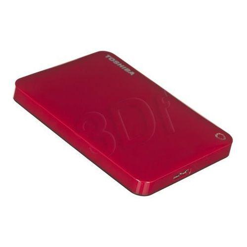 """Toshiba hdd store canvio connect ii 2,5"""" 1tb red- produkt w magazynie! zamówienia złożone do 17:00 wysyłamy w tym samym dniu!"""