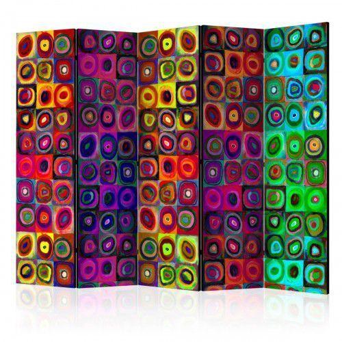 Artgeist Parawan 5-częściowy - kolorowy abstrakcjonizm ii [room dividers]