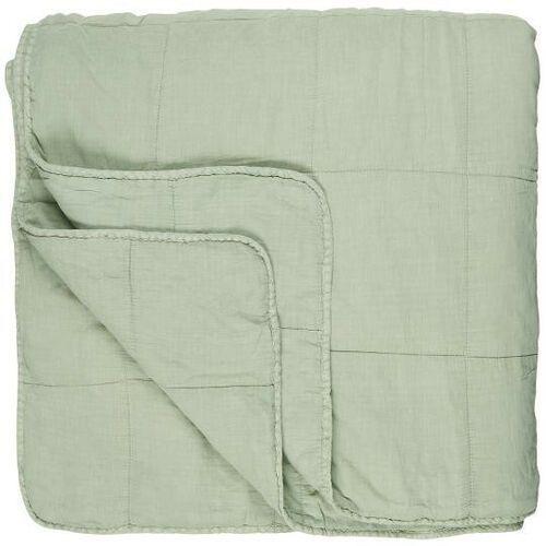 Ib Laursen - Podwójna narzuta na łóżko w kolorze jasnozielonym