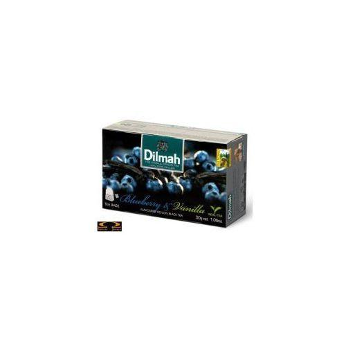 blueberry vanilla ex20 herbata z zawieszką marki Dilmah