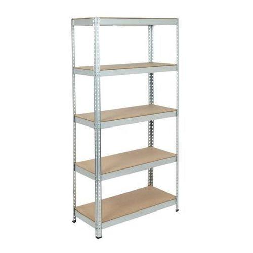 Regał metalowy Gamel 90 x 40 x 180 cm 5 półek 175 kg ocynk (3663602991441)