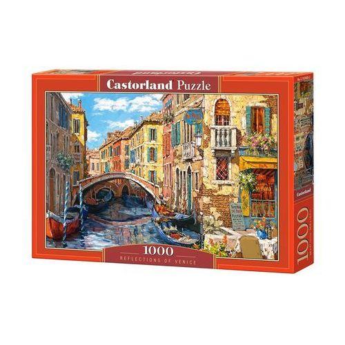 Castor Puzzle 1000 reflections of venice - od 24,99zł darmowa dostawa kiosk ruchu (5904438103683)