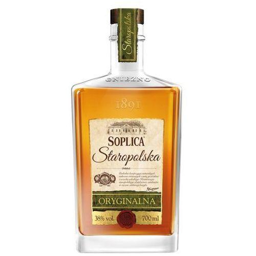 SOPLICA 700ml Staropolska oryginalna Orzech włoski Wódka smakowa   DARMOWA DOSTAWA OD 200 ZŁ - produkt z kategorii- Alkohole