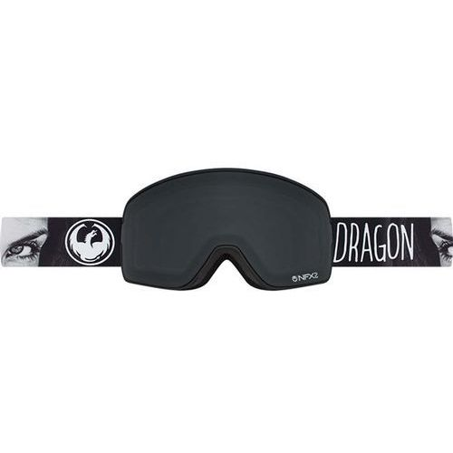 Dragon Gogle snowboardowe  - nfx2 - mistress/dark smoke + yellow red ion (01m)