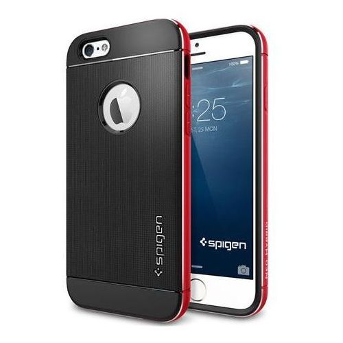 Etui SPIGEN do iPhone 6 Case Neo Hybrid Metal Series Metaliczny Czerwony, neo METAL red